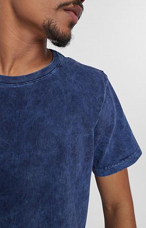 Camiseta Masculina de Malha com Gola Careca Sky