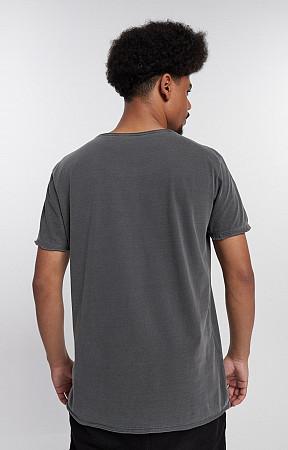 Camiseta Masculina de Malha Corte a Fio Stone