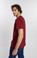 Camiseta Masculina de Malha com Gola Careca Reativo